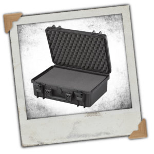 Large Protective Hard Camera Case with Foam - IP67 Rated