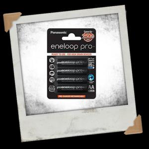Panasonic Eneloop Pro AA 2500mAh NiMH