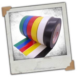 0.6 Inch 15M Electrical Insulation Tape 6 Colour 6 Pack,