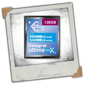 Integral UltimaPro X2 128 GB CFast 2.0 Memory Card