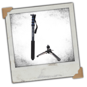 Andoer Photography DSLR Camera Monopod (with Support Stand)