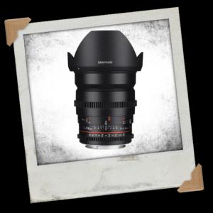 Samyang 24mm T1.5 VDSLR II Manual Focus Video Lens (Canon EF Mount)