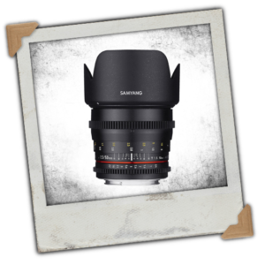 Samyang 50mm T1.5 VDSLR Manual Focus Video Lens (Canon EF Mount)