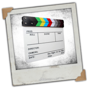 Andoer® Acrylic Clapboard Dry Erase Director Film Movie Clapper Board Slate 9.6 * 11.7