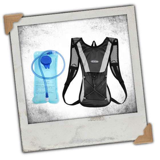 Hydration Backpack, Cycling Pack with 2L Water Bladder