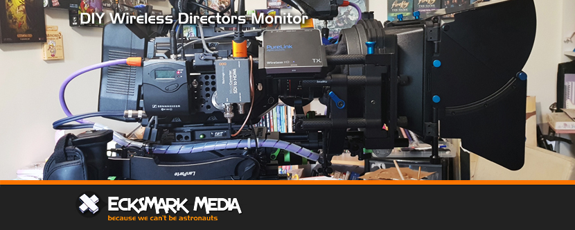 DIY Wireless Directors Monitor